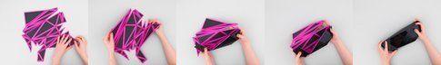 Come si costruisce la borsa origami