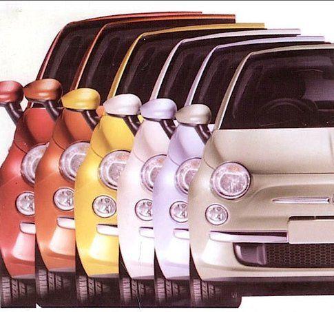 Colori FIAT 500 di Eliana Maria Lorena
