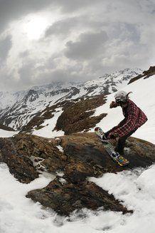 Ylenia Giachetti in Val Senales - Foto di Eleonora Raggi