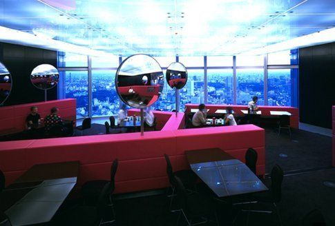 Il caffè del museo Mori Art di Tokio