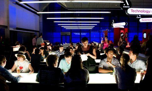 Il Deep Blue Café dello Science Museum di Londra