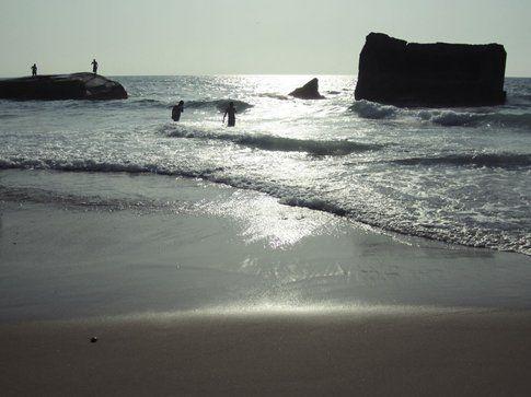 La spiaggia di Capbreton