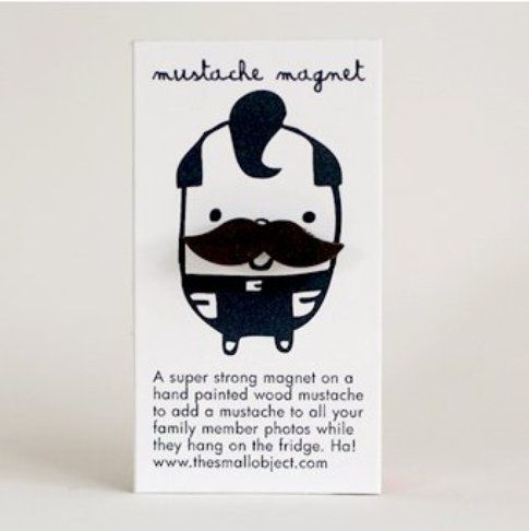 Miniature Mustache Magnet - The Small Object