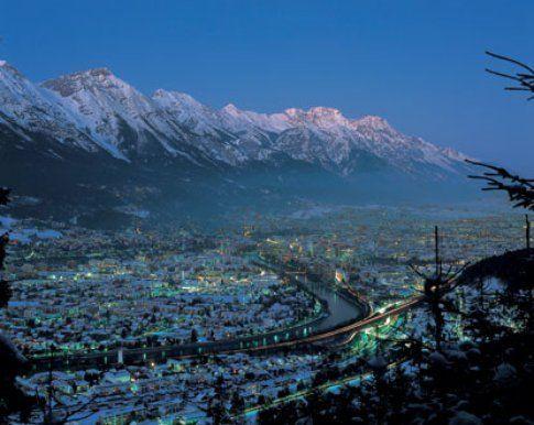 Innsbruck in autunno