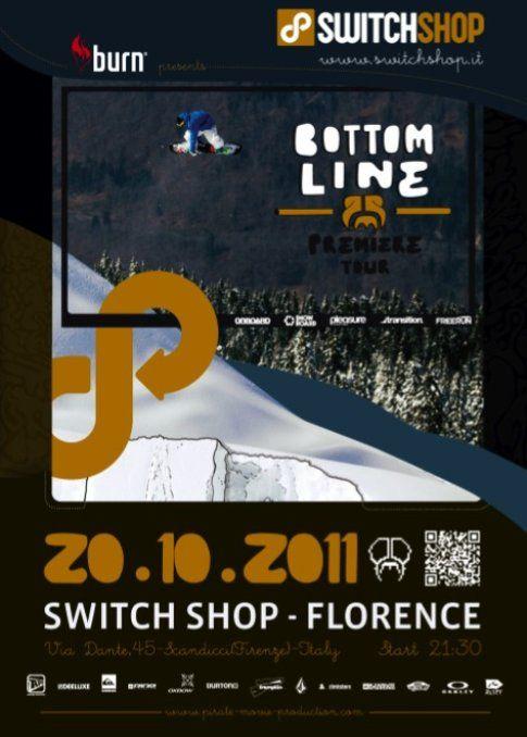 Pirates Premiere a Firenze con Switch Shop