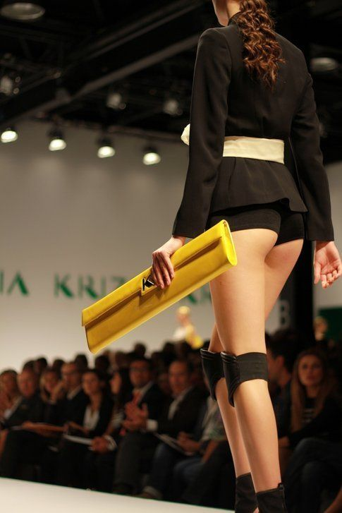 La borsa baguette di Krizia