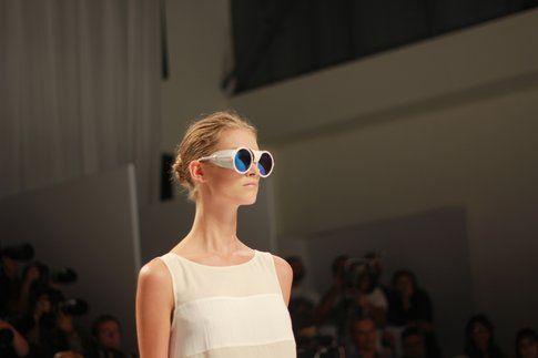 Gli occhiali di Alviero Martini
