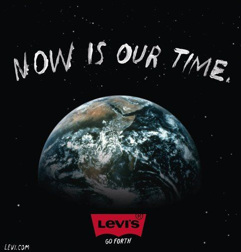 Now is our time by Levi's