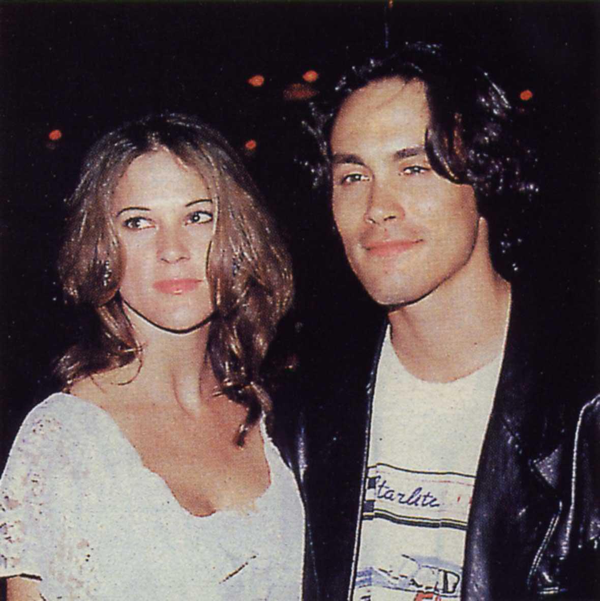 Brandon Lee e la fidanzata Eliza Hutton