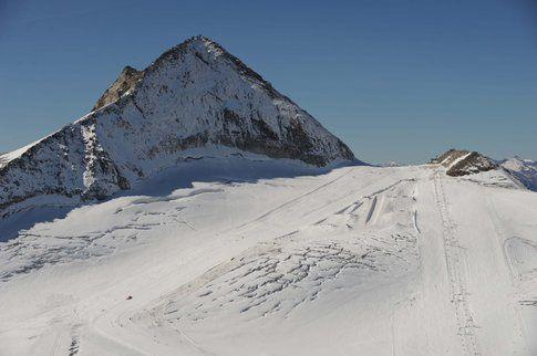 Il ghiacciaio di Hintertux ed il park