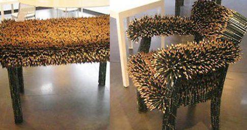 Le sculture di Kerstin Schulz per Faber Castell