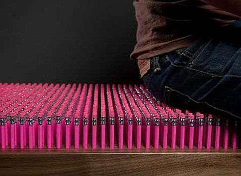 Pencil Bench di Boex 3D Creative Solutions