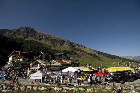 Villaggio a valle. Foto di Eleonora Raggi
