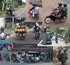 Mezzi di trasporto a Bali