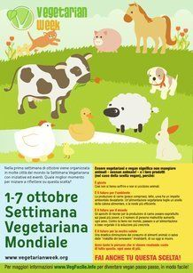 Locandina eventi settimana vegetariana