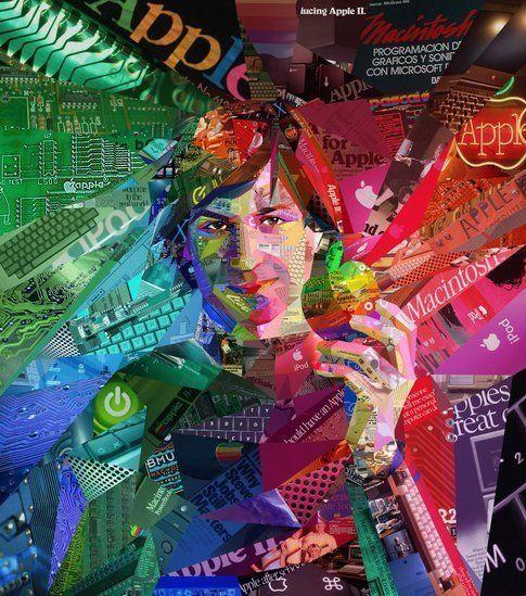 Psychedelic Steve Jobs (per ALFA magazine)