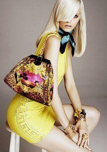 Giallo fluo per Versace