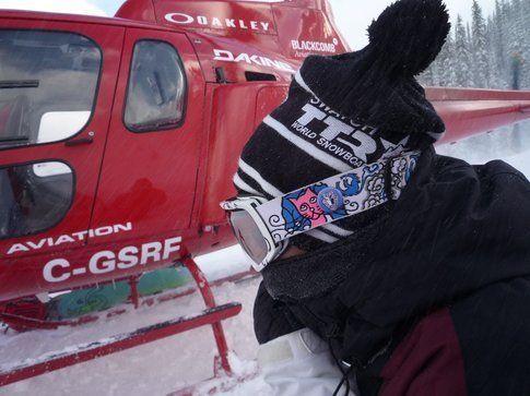 Chi non vorrebbere bere il caffè e salire in elicottero la mattina?