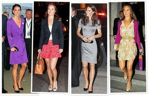 Una carrellata di look alla Kate Middleton