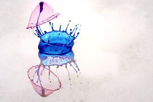 Sculture liquide: immortalare la plasticità dell'acqua