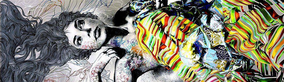 Ritratti di donna: trecce di colori e sogni tra i capelli