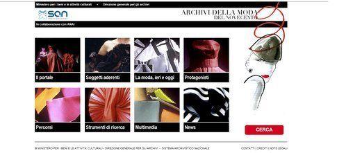 L'homepage del Portale