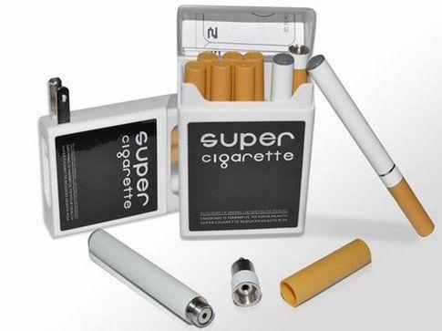 """Un pacchetto di sigarette elettroniche """"tipo"""""""