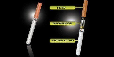 Le parti della sigaretta elettronica