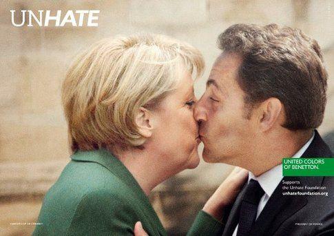 La Cancelliera della Germania e il Presidente francese