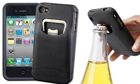 iBottleopener Hard Case & Bottle Opener