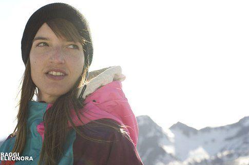 Lisa Filzmoser in Val Senales