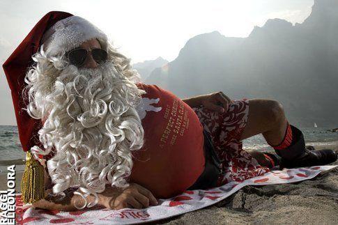 Se Babbo Natale va in ferie ci vado pure io!