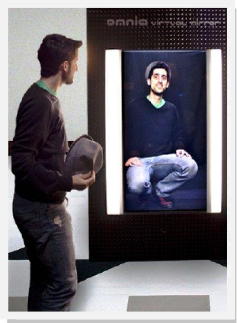 Il prototipo dell'Omnia Virtual Mirror