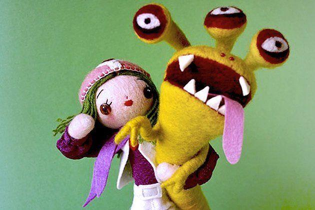 Dal Giappone i pupazzi e le bamboline illustrate di Hine Mizushima