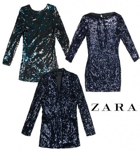 Proposte in paillettes di Zara