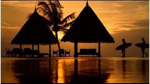 E chi non vorrebbe vedere un tramonto così