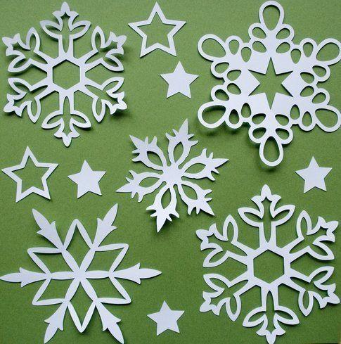 Fiocchi di neve di carta