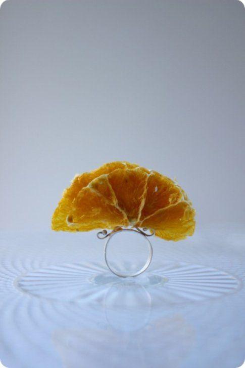 Anello con arancia per il MAD