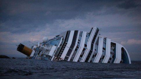 Costa Concordia, naufragio