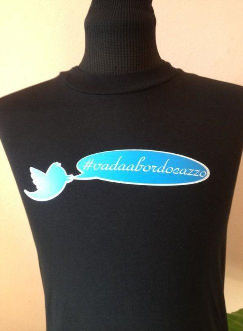 t-shirt #vadaabordocazzo