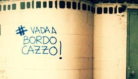 murales #vadaabordocazzo