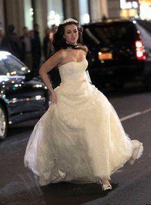Il vestito Vera Wang scelto da Blair