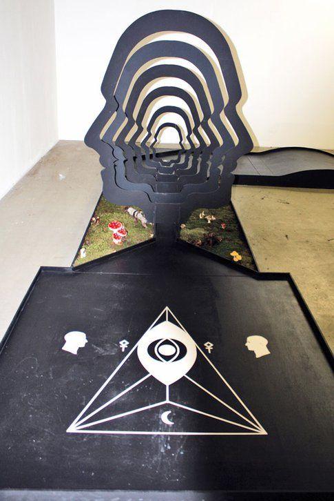 Una buca alternatica al minigolf del Bright