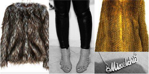 Faux Fur & Leather