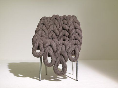 British Wool Chair di Claire-Anne O'Brien