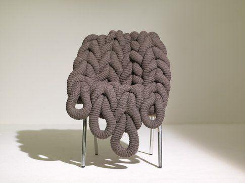 British Wool Chair di Claire-Anne O'Brien