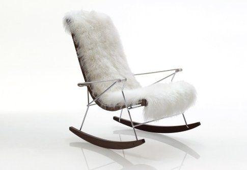 J.J. Rocking Chair di B&B Italia