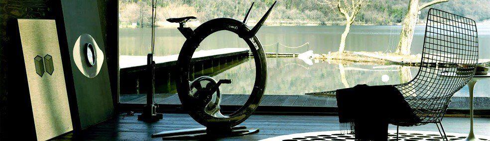 Ciclotte: la exercise bike monoruota di design
