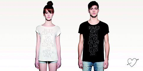 Le tee Just Love di Pull & Bear