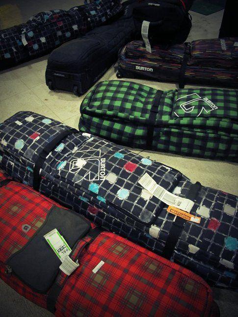 Boardbags nella hall